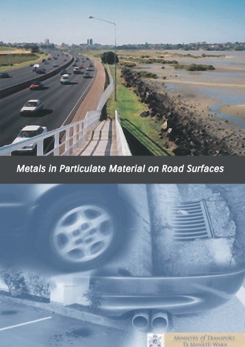 Metals in Particulate Material on Road Surfaces - October 2003