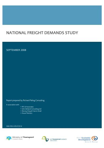 National Freight Demands Study - Ministry of Transport