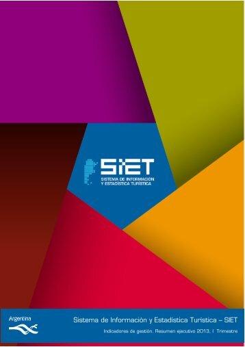 Sistema de Información y Estadística Turística – SIET