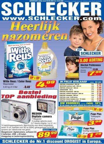 Bestel TOP aanbieding - Schlecker