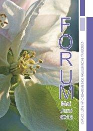 12 02 Forum Mai2.cdr - Evangelisch in Traunreut
