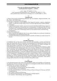 Gesetz über die Beförderung gefährlicher Güter ... - Transportrecht