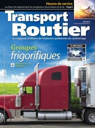 Au carrefour - Transport Routier