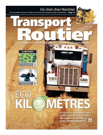 Mars 2009 - Transport Routier