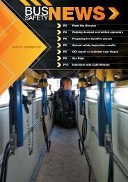 Issue 21: suMMeR 2011 - Transport Safety Victoria