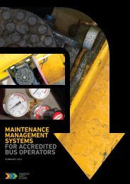Maintenance Management Systems for Accredited Bus Operators