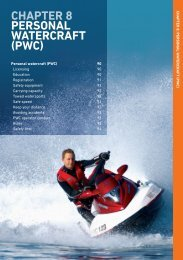 perSONaL WaterCraFt (pWC) CHAPTER 8 - Transport Safety Victoria