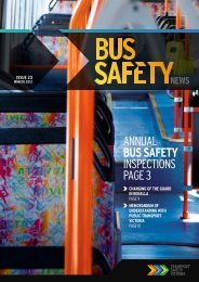 Bus Safety News - Issue 23 - Transport Safety Victoria