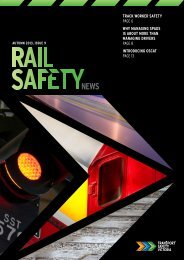 Rail Safety News Issue 9 (PDF 3.4 MB) - Transport Safety Victoria