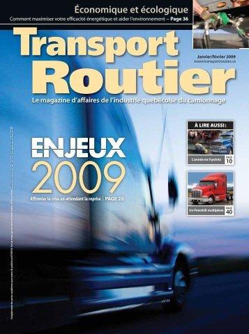 Nouveaux produits - Transport Routier