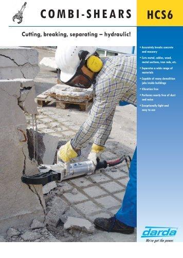 for countless demolition jobs! - Darda Gmbh