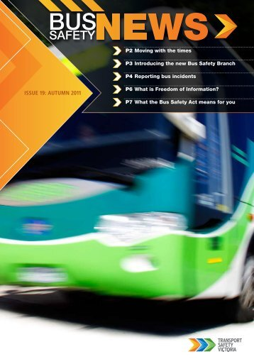 Bus Safety News - April 2011 (PDF, 663.8 KB, 8 pp.) - Transport ...
