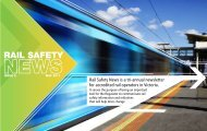Rail Safety News - Issue 5 - May 2011 - Transport Safety Victoria