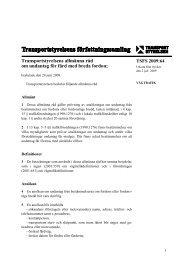 TSFS 2009:64 - Transportstyrelsen