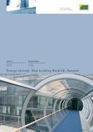 Energy concept: New building Nord/LB, Hanover - Transsolar