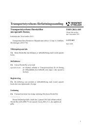 2011:105 - Transportstyrelsen