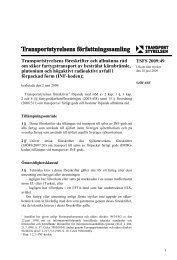 TSFS 2009:49 - Transportstyrelsen