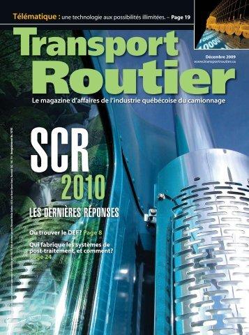 À l'affiche - Transport Routier