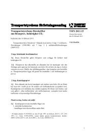 TSFS 2011:15 - Transportstyrelsen