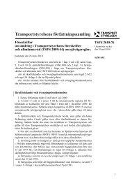 TSFS 2010:76 - Transportstyrelsen