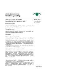 JvSFS 2005:1 - Transportstyrelsen