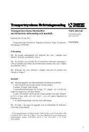 TSFS 2012:60 - Transportstyrelsen