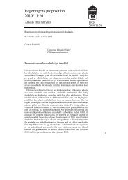 Regeringens proposition 2010/11:26 - Transportstyrelsen