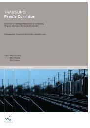 Eindrapportage Fresh Corridor - Transumo
