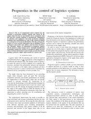 Paper Prognostics in control PILOT - Transumo