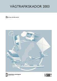 Vägtrafikskador 2003 - Transportstyrelsen