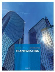 Insights Trends - Owners - Transwestern
