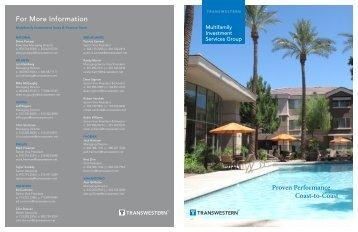 ISG Multifamily Brochure - Transwestern