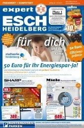 50 Euro für Ihr Energiespar-Ja! - expert ESCH