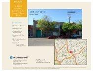 For Sale 2618 Main Street - Transwestern