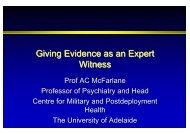 Prof Alexander McFarlane