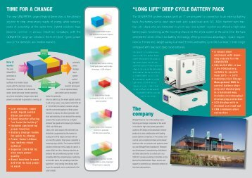 "The company ""LONG LIFE"" DEEP CYCLE BATTERY ... - epicos.com"