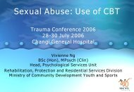 Sexual Abuse: Use of CBT