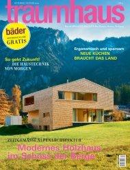 Modernes Holzhaus im Schoss der Berge - Traumhaus