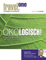 Das grüne Gewissen - Travel ONE