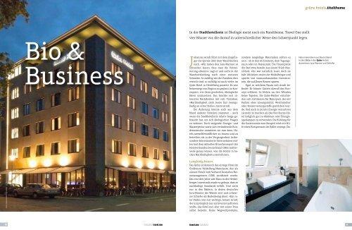 Bio & Business - Travel ONE