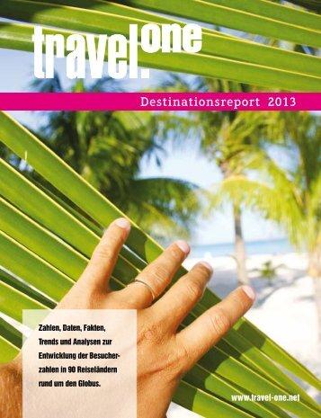 Destinationsreport 2013 - Travel ONE