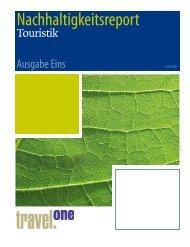 Nachhaltigkeitsreport der Touristik 2010 - Travel ONE