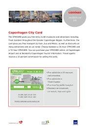 Copenhagen City Card - Travel Agent Academy