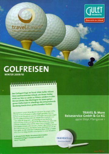 Jetzt Golfreisekatalog downloaden (PDF) - Travel & More