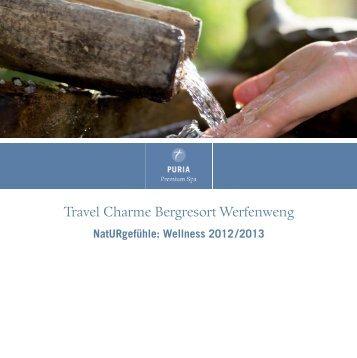 PURIA Spa Angebote - Travel Charme Hotels & Resorts