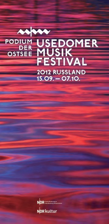 des sikfestivals - Usedomer Musikfestival