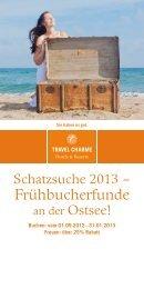 Frühbucherflyer zum Download - Travel Charme Hotels & Resorts