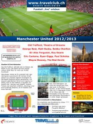 Manchester United 2012/2013 - Travelclub
