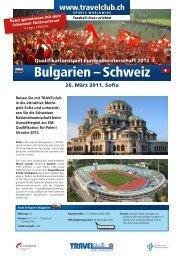 Bulgarien – Schweiz - Travelclub