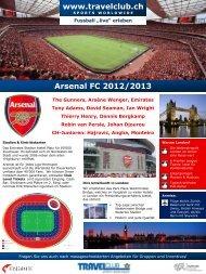 Arsenal FC 2012/2013 - Travelclub